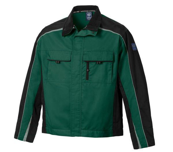 Arbeitsjacke BS ONE grün/schwarz