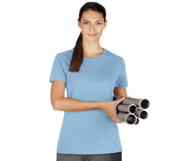 Damen T-Shirt Premium hellblau