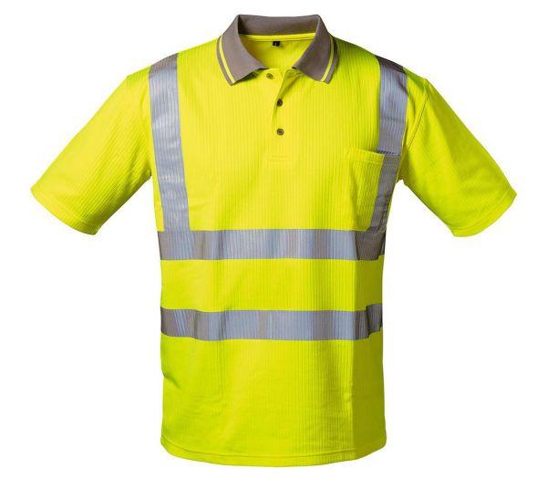 Warnschutz-Poloshirt Image warngelb