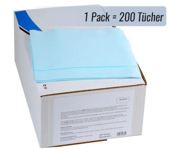 Universal-Putztücher Premium, 200er Pack hellblau