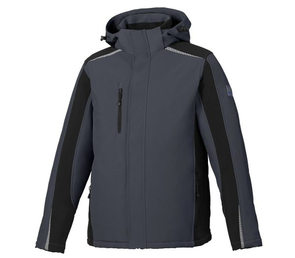 Winter Softshelljacke BS ONE anthrazit/schwarz