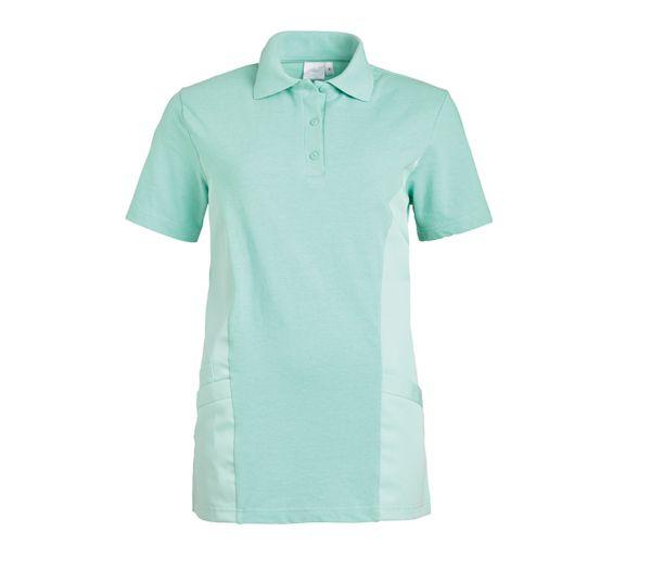 Polo-Schlupfkasack für Sie & Ihn Mischgewebe mint