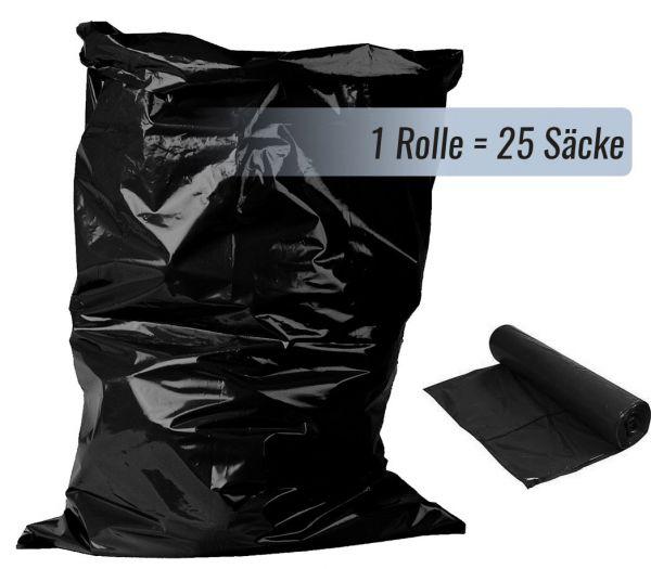 Müllsäcke, 70L schwarz