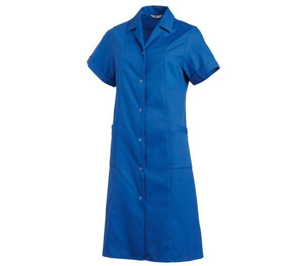 Damen Kittel kurzarm kornblau
