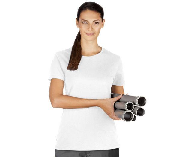 Damen T-Shirt Premium weiß