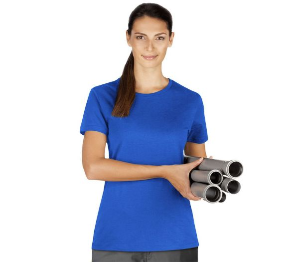 Damen T-Shirt Premium kornblau