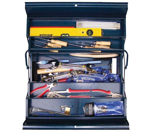 """Werkzeug-Set """"Schlosser"""" in Montage-Kiste, 52-teilig"""