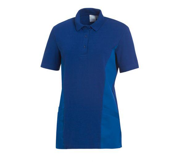 Polo-Schlupfkasack für Sie & Ihn Mischgewebe kornblau