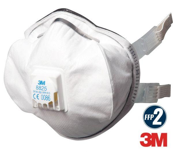 3M Atemschutzmaske mit Ventil FFP2 weiß